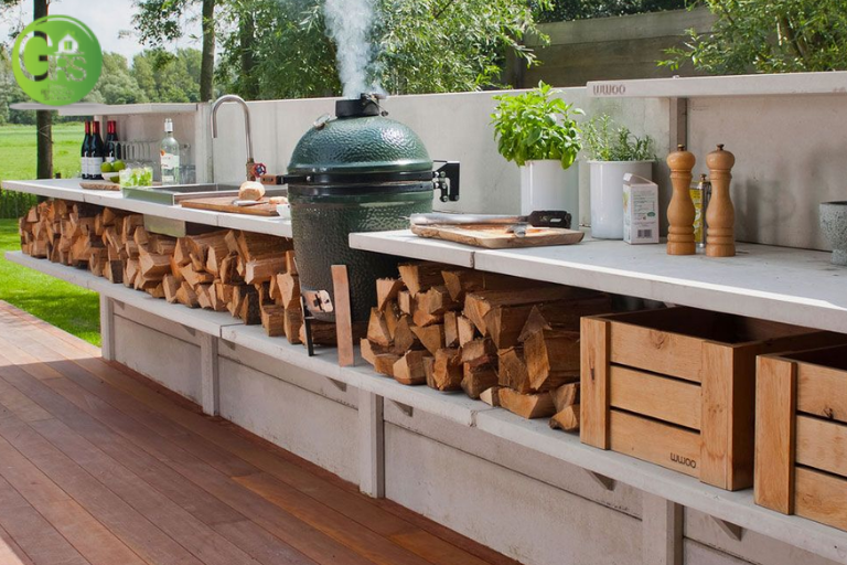 custom designed outdoor kitchens in Los Angeles